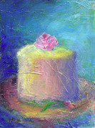 Cupcake Paintings - Blessings For Tommorow by Jeannine Luke