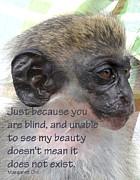 Blind Beauty Print by Ian  MacDonald