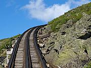 Trains Photos - Blind Corner by Peter Gray