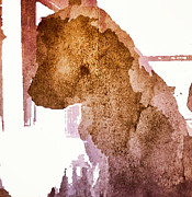 Blind Dog Winston Print by Christine Segalas
