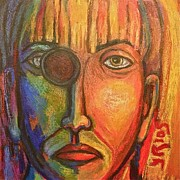 Limited Mixed Media Originals - Blindsided by Yulonda Rios
