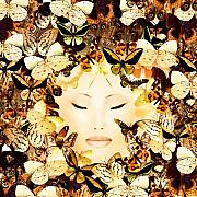 Insects Mixed Media Posters - Bliss Poster by Photodream Art