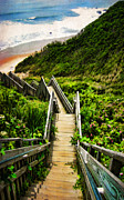 Staircase Digital Art - Block Island by Lourry Legarde