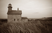 Ri Lighthouse Prints - Block Island North West Print by Skip Willits