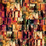 Squared Digital Art - Blocks Squared by Paul St George