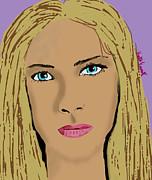Kate Farrant - Blonde Girl
