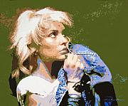 New Age Paintings - Blondie - Debbie Harry by David Lloyd Glover