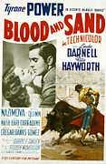 Hayworth Posters - Blood And Sand, Rita Hayworth, Tyrone Poster by Everett