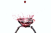 Gold Ring Prints - Blood diamond Print by Mats Silvan