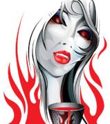 Blood Lust  Print by Brian Gibbs