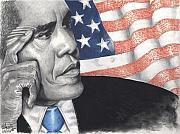 Obama Pastels - Blood Sweat and Tears by Kelvin Winters