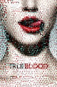 Montage Mixed Media - Blood True Mosaic by Paul Van Scott