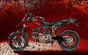 Bloody Italian Beauty Print by Radoslaw Kowzan