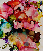 Alcohol Ink Posters - Bloom Poster by Lynn Callahan