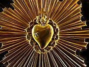 Religious Artifacts - Blooming Heart of Gold by Edan Chapman