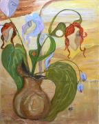 Mila Ryk - Blooming Orchids in the...