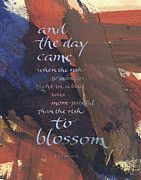 Goals Prints - Blossom II Print by Judy Dodds