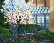 Blossoming Originals - Blossoming Tree at Ainsley House by Laura Iverson