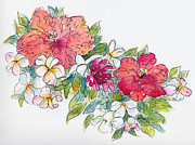 Tiare Originals - Blossoms of French Polynesia by Pat Katz