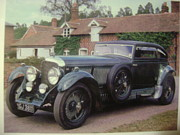 Crankshaft Photos - Blower Bentley by Everett Hickam