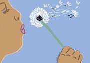 Kate Farrant - Blowing a Dandelion