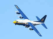 Jato Acrylic Prints - Blue Angels Fat Albert C130T Hercules . 7D7906 Acrylic Print by Wingsdomain Art and Photography