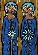 Blue Angels Print by Julie-Ann Bowden