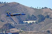 Jet Prints - Blue Angels No.5 Print by Wingsdomain Art and Photography