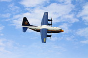Kevin Schrader Metal Prints - Blue Angles c130 Metal Print by Kevin Schrader