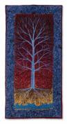 Tree Roots Tapestries - Textiles - Blue Ash by Lorraine Roy