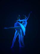 Blue Ballet Print by Jenn Harris