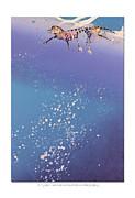 Blue Bayou Print by Diana  Tyson