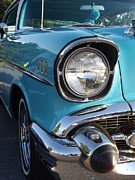 Street Rod Art - Blue Beauty by Chad Thompson