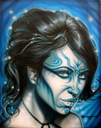 Fantasy Originals - Blue Beauty by Tim  Scoggins