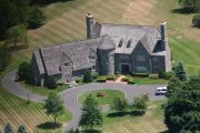 Residential Real Estate Aerial Photographs - Blue Bell Custom Home by Duncan Pearson