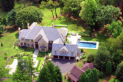 Residential Real Estate Aerial Photographs - Blue Bell House by Duncan Pearson