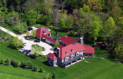 Residential Real Estate Aerial Photographs - Blue Bell Montgomery County Pennsylvania by Duncan Pearson
