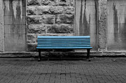 Kayla Mackay - Blue Bench