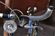 Brynn Ditsche Metal Prints - Blue Bike Metal Print by Brynn Ditsche