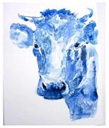 Blue Bonnet  Print by Sue Prideaux