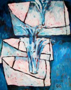 Metaphor Originals - Blue Bouquets by Charlie Spear