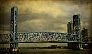 Blue Bridge Print by Mario Celzner