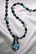 Blue Jewelry - Blue Callas by Lisa Yount