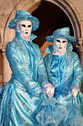 Photo . Portrait Posters - Blue Cane Duo Poster by Donna Corless