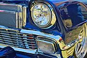Blue Classic Car Prints - Blue Car Print by Dorota Nowak