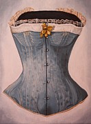 Corset Originals - Blue Corset by Jennifer Lynch