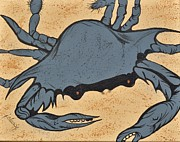 Jolaine Goldman - Blue Crab on Sand