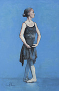 Ballet Originals - Blue Dancer by Geoff Poole