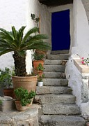 Sabrina L Ryan - Blue Door in Greece