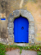 Dovecote Framed Prints - Blue Door Framed Print by Roberto Alamino